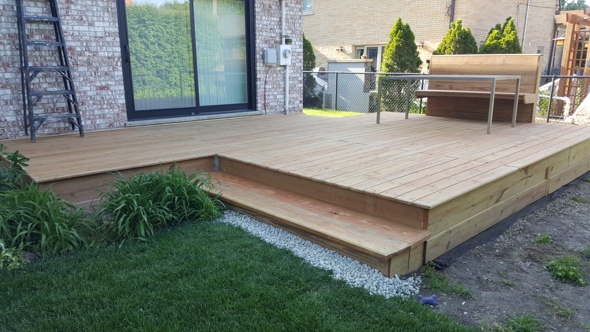 Lincolnwood IL Deck Construction
