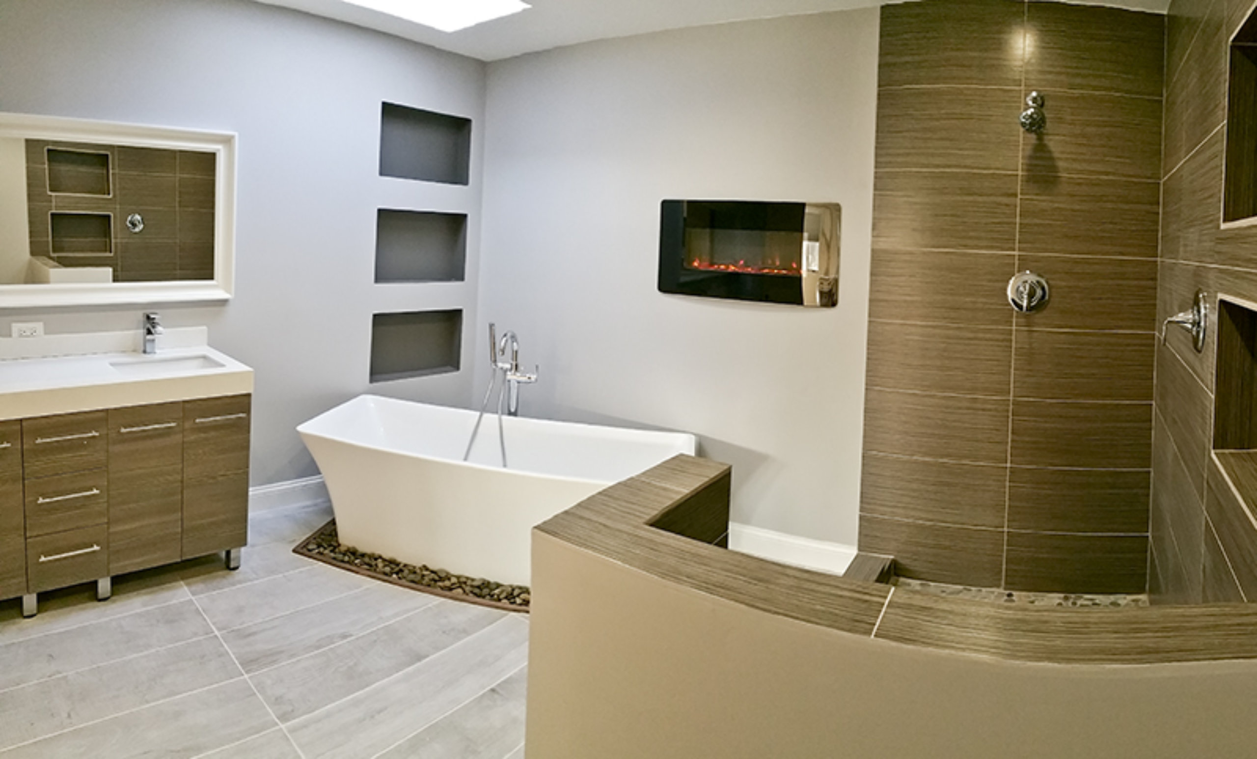 Skokie IL Bathroom Remodel