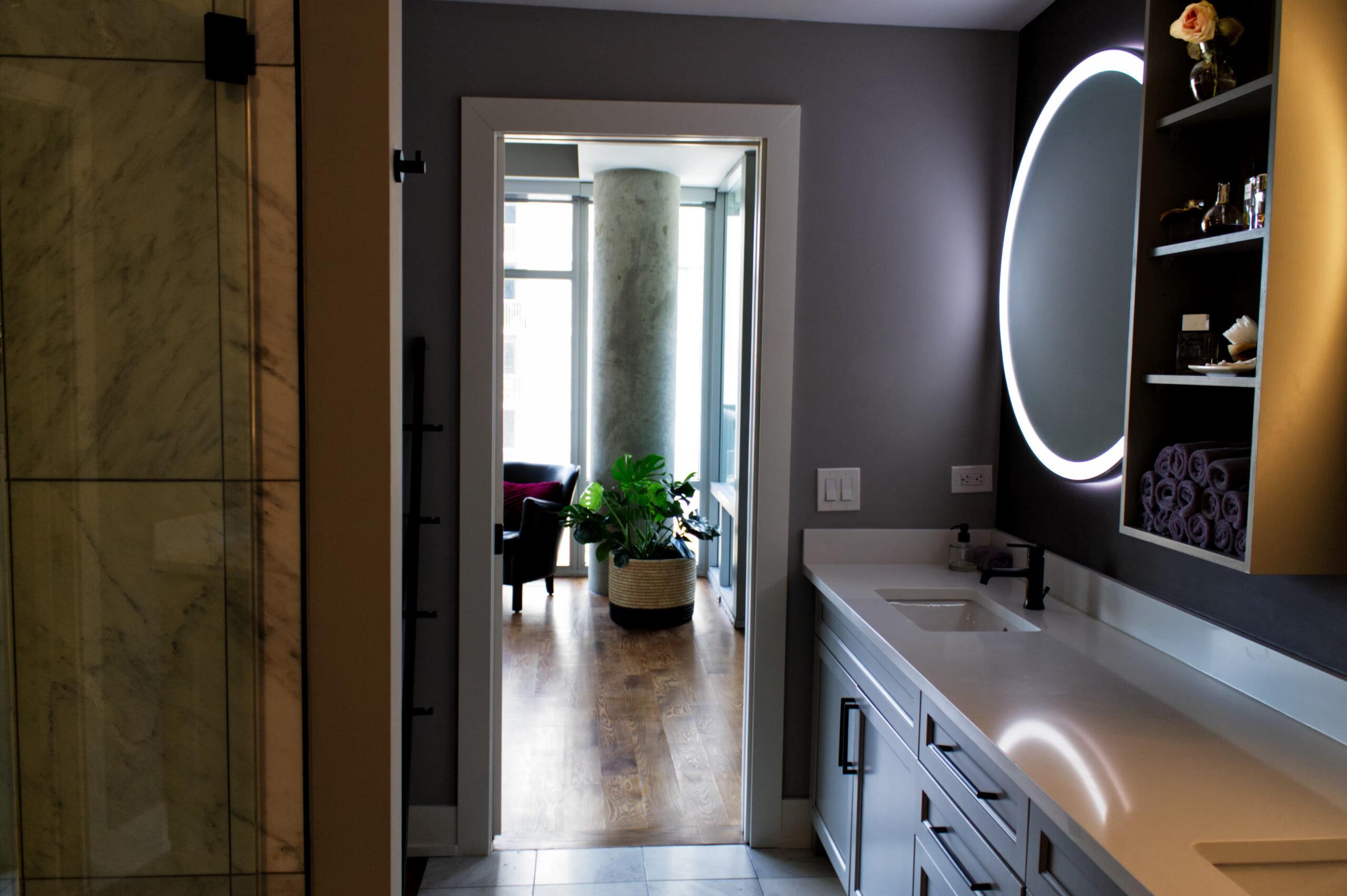 Chicago River North Master Bathroom Remodel