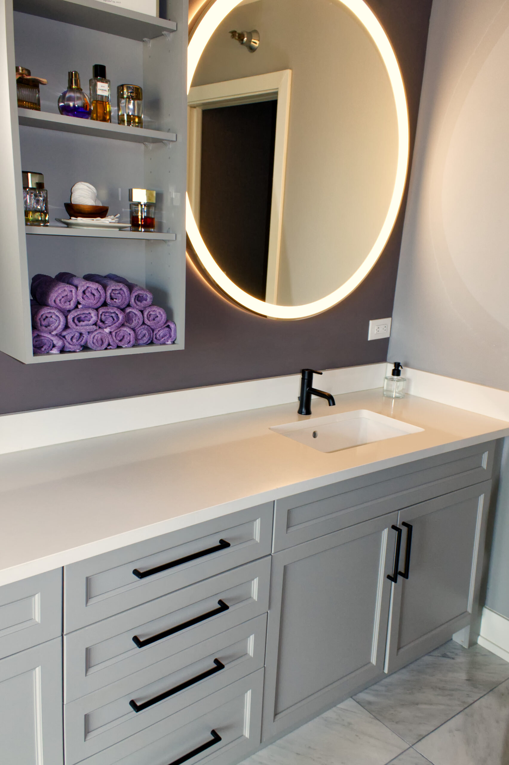 Chicago River North Master Bathroom Remodel