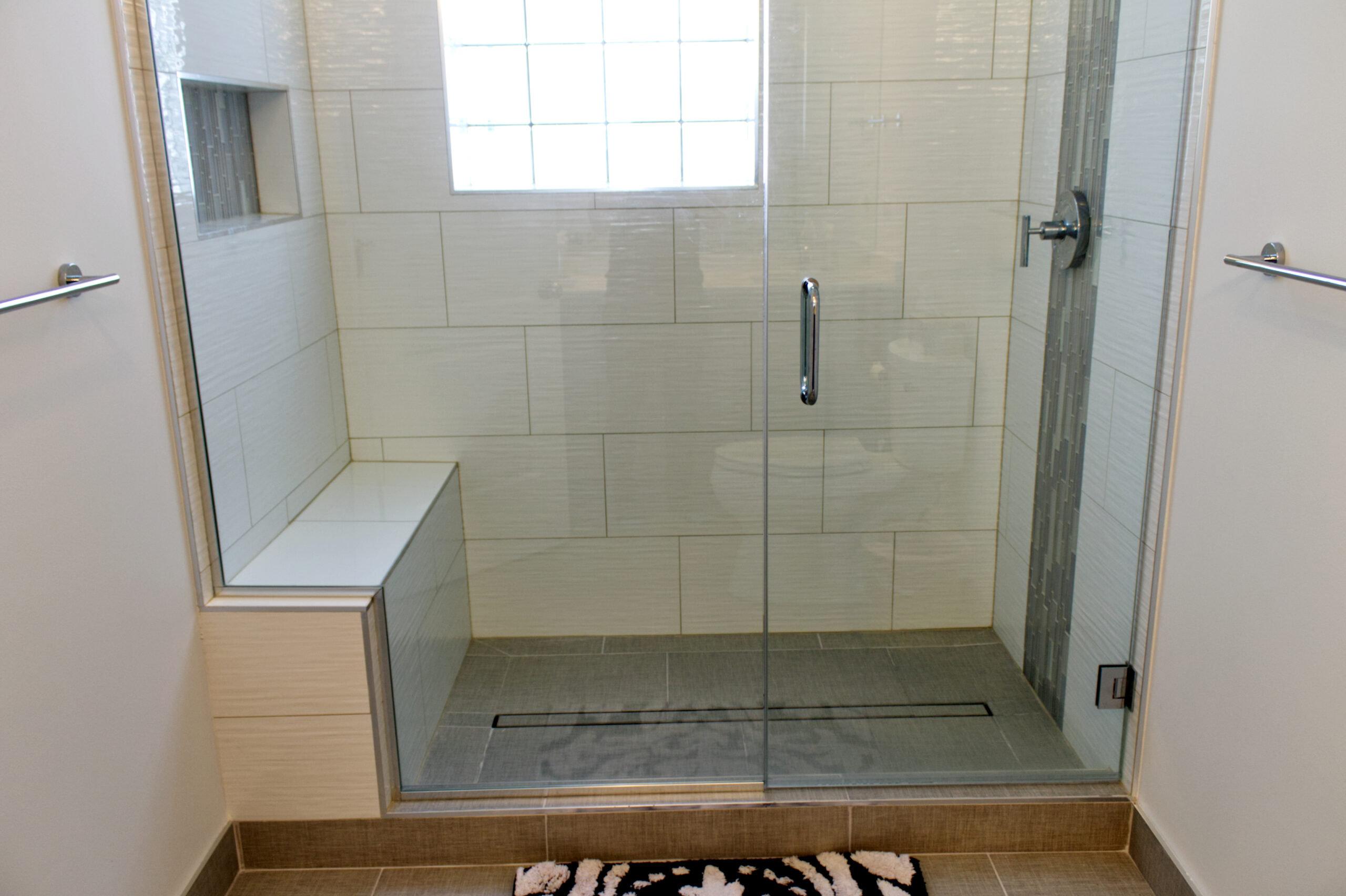Wilmette IL Bathroom Shower Renovation