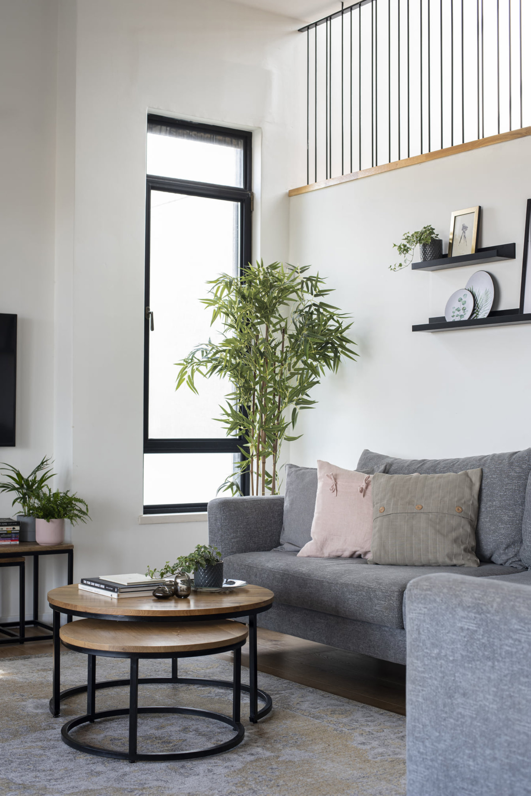 Chicago Logan Square Home Renovation Living Room