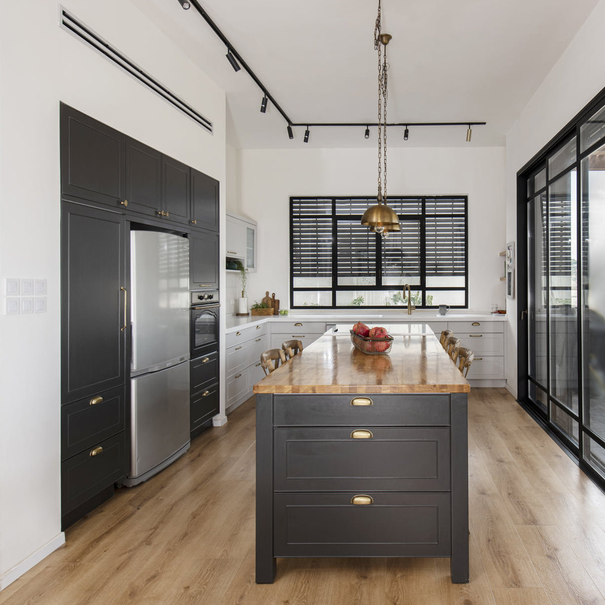 Chicago Logan Square Kitchen Renovation Modern Cabinets