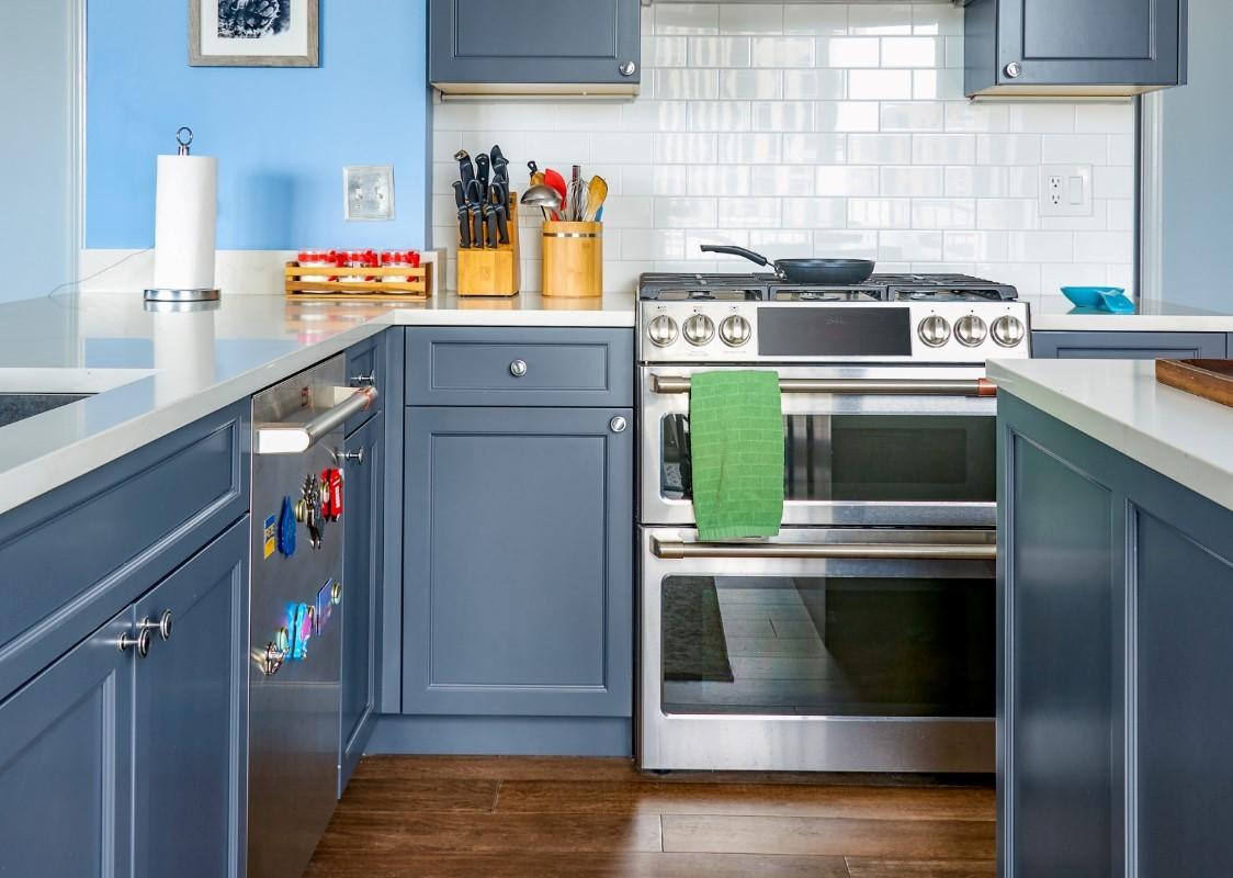 printers row kitchen remodel