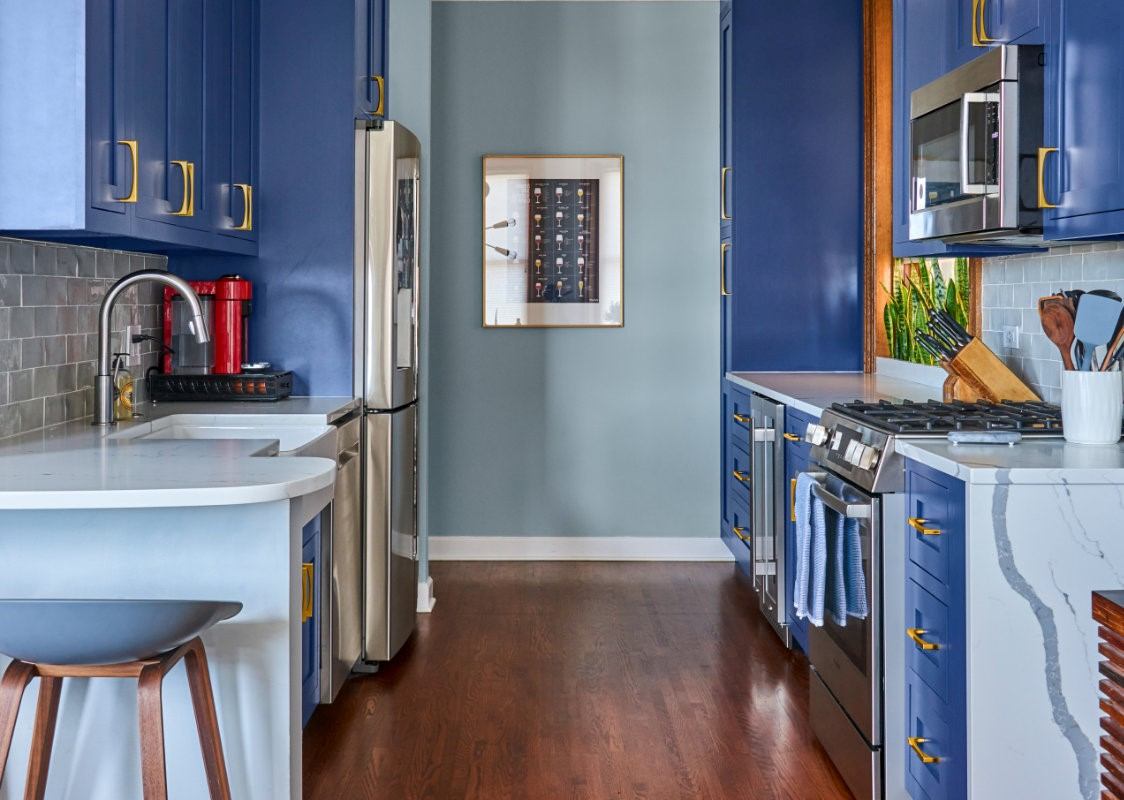 river west condo kitchen remodeling