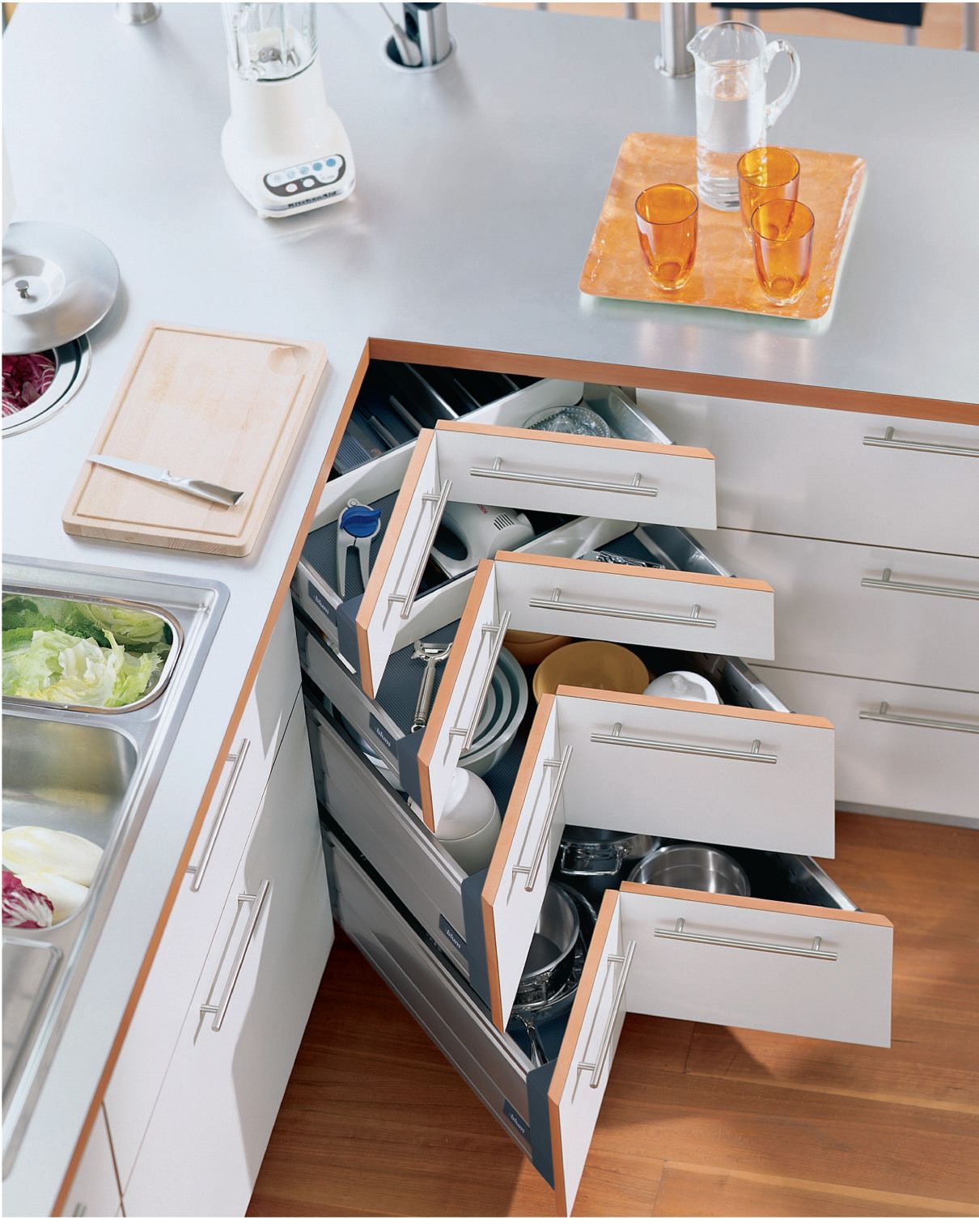 corner drawers storage ideas remodeling
