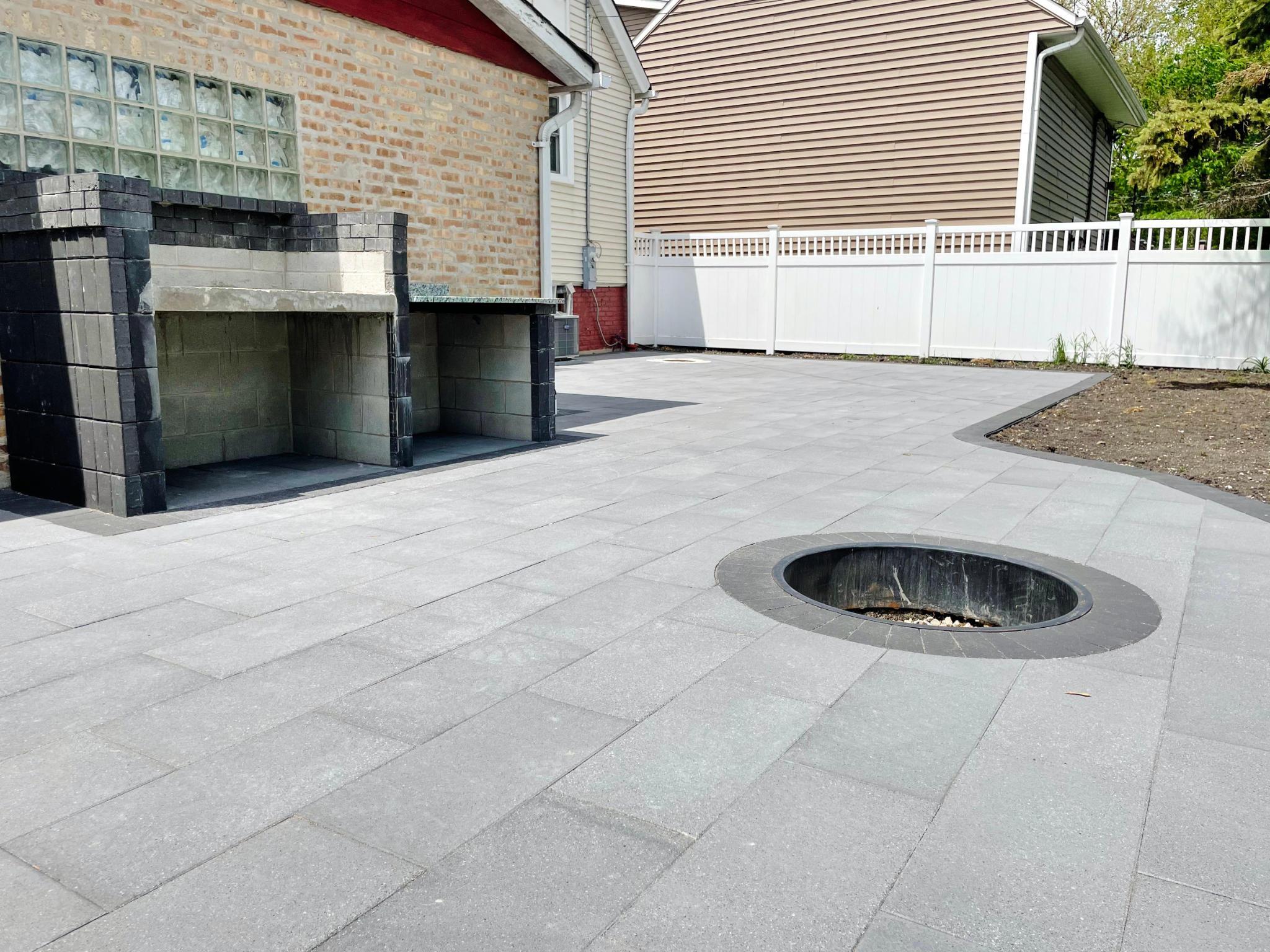 patio project backyard