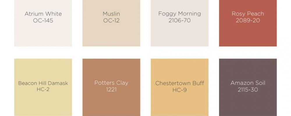 BEHR 2021 Colors of the Year